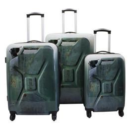 F I 23 Voyage 3 darabos bőrönd szett